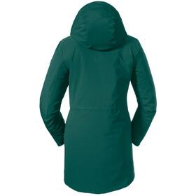 Schöffel Moskau 3en1 Parka Mujer, verde